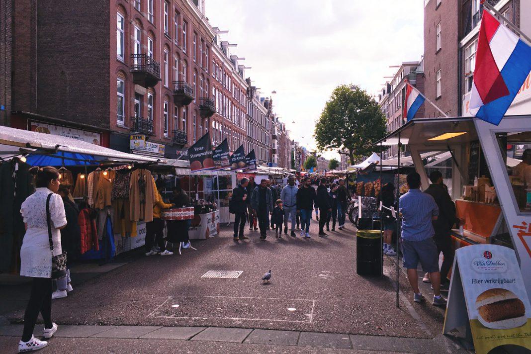 Amsterdam zu Fuß erkunden Albert Cuyp