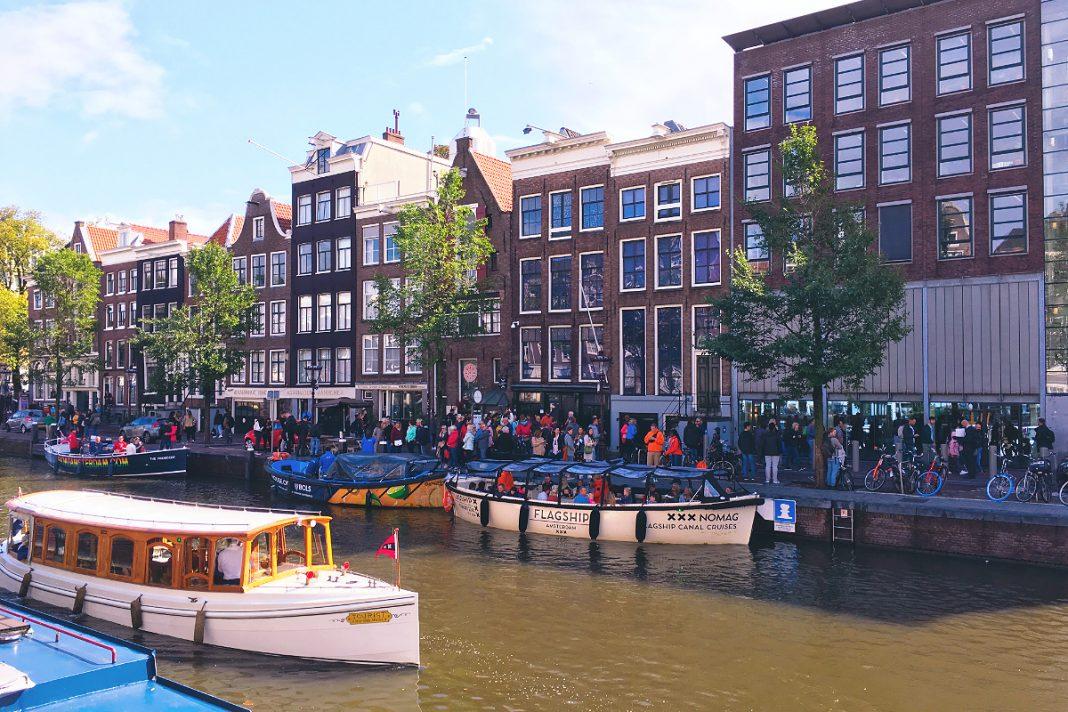 Amsterdam zu Fuß erkunden Anne-Frank-Haus