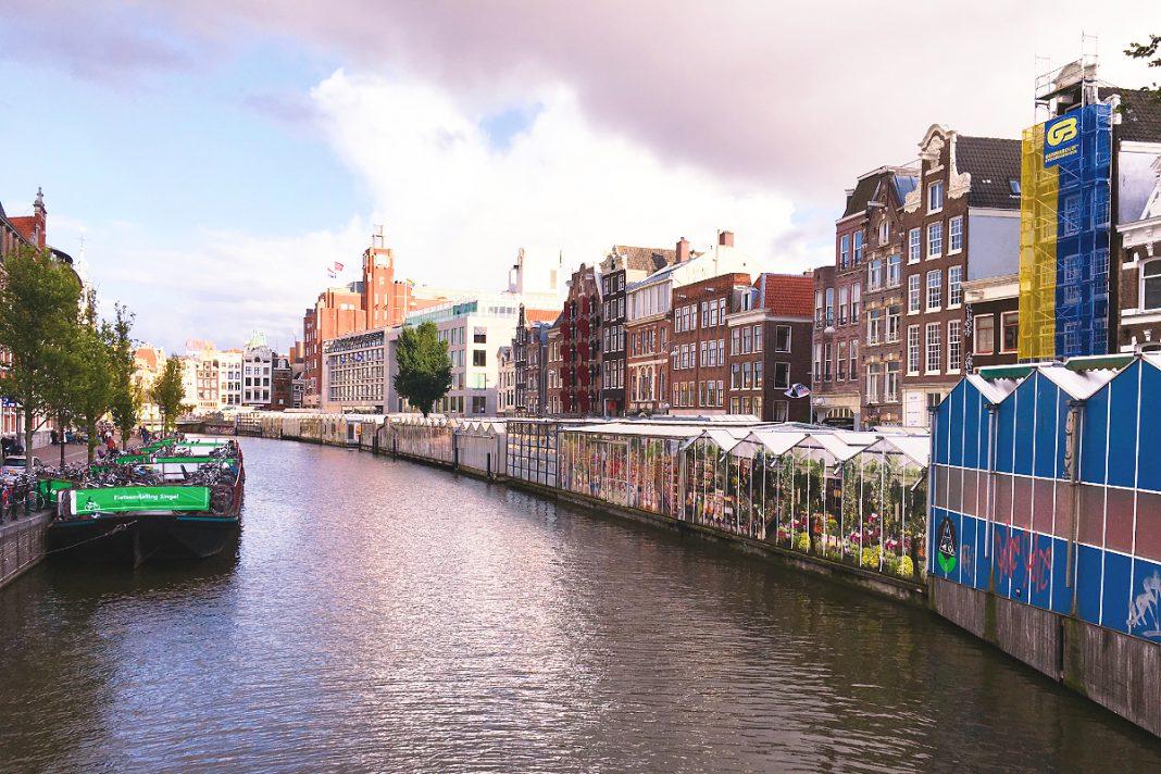 Amsterdam zu Fuß erkunden Blumenmarkt