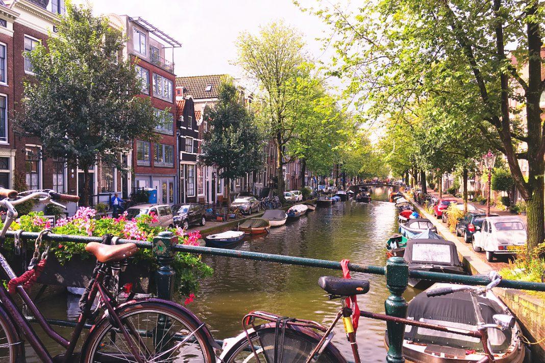 Amsterdam zu Fuß erkunden Sightseeing-Route