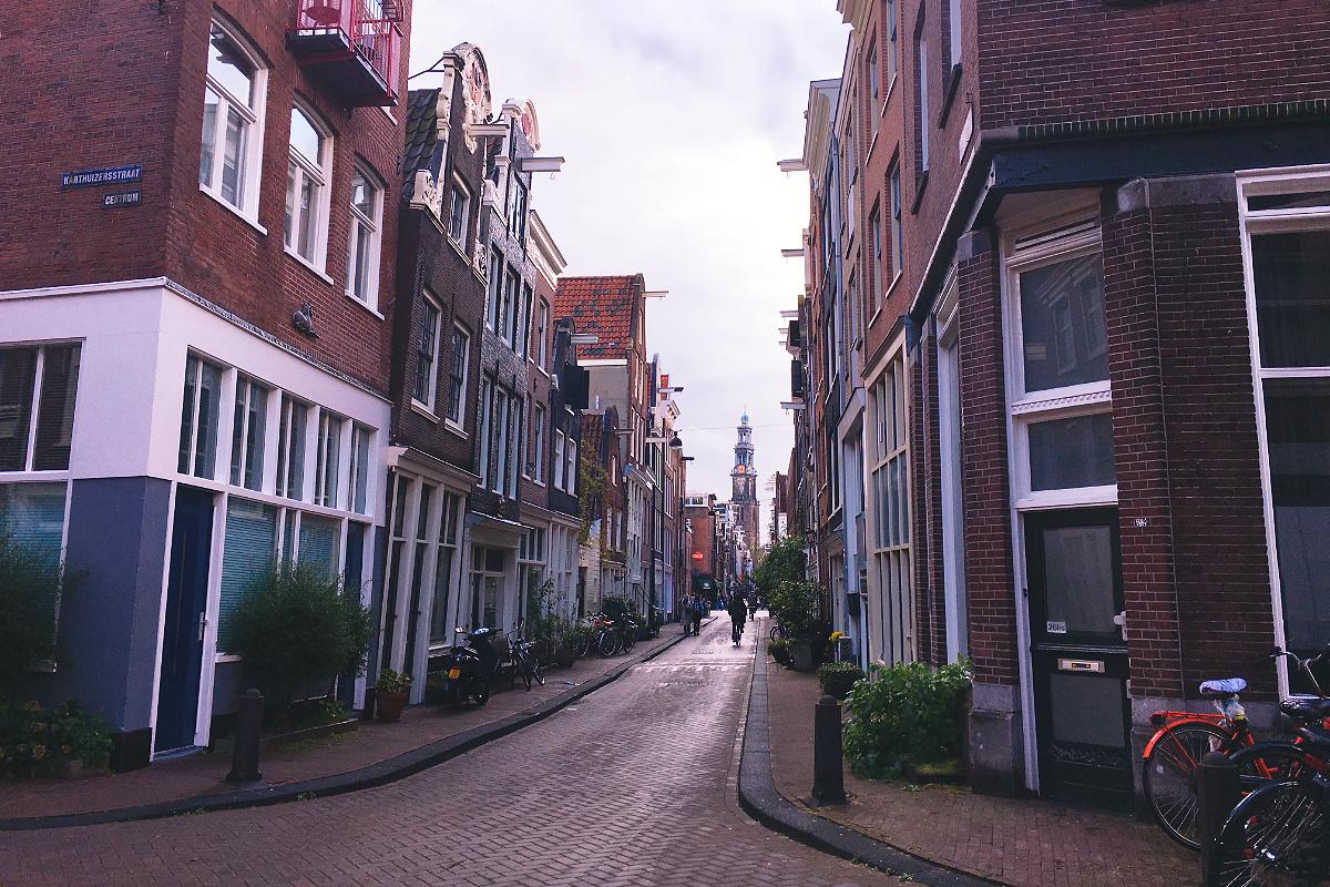 Amsterdam zu Fuß erkunden Jordaan