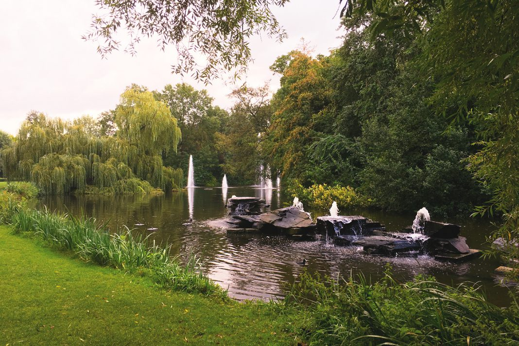 Amsterdam zu Fuß erkunden Vondelpark