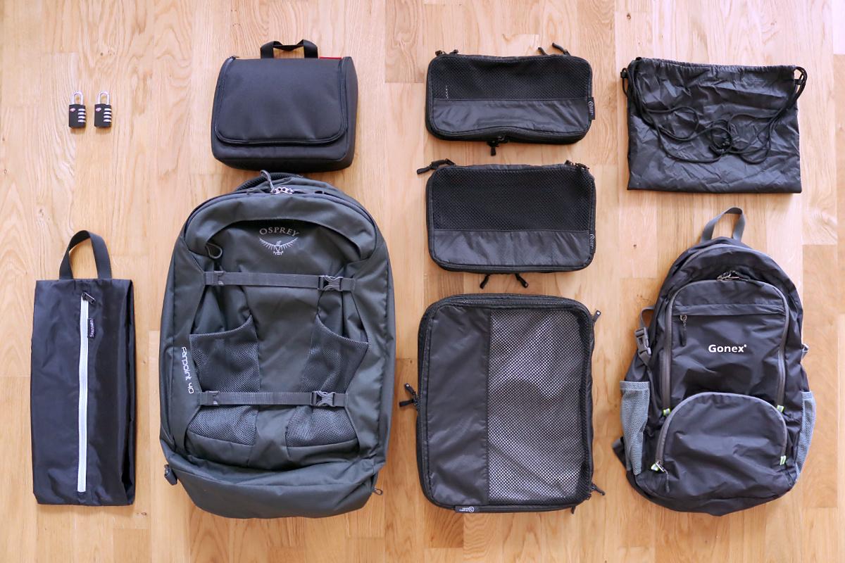 Bali Backpacking Packliste Handgepäck-Rucksack