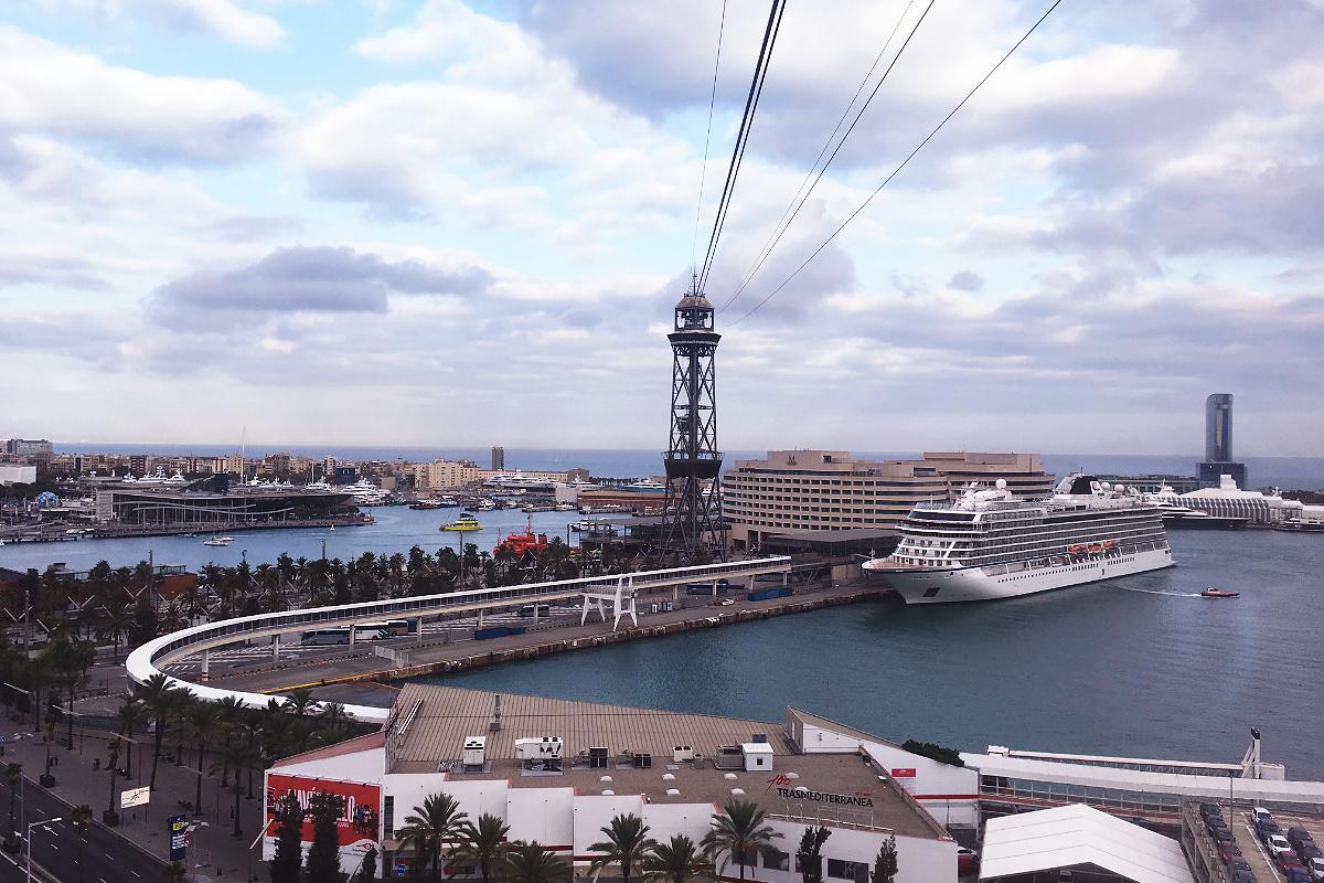 Barcelona Hafen-Seilbahn