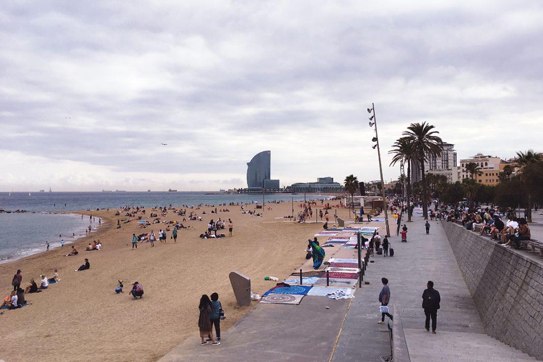 Barcelona Platja de la Barceloneta