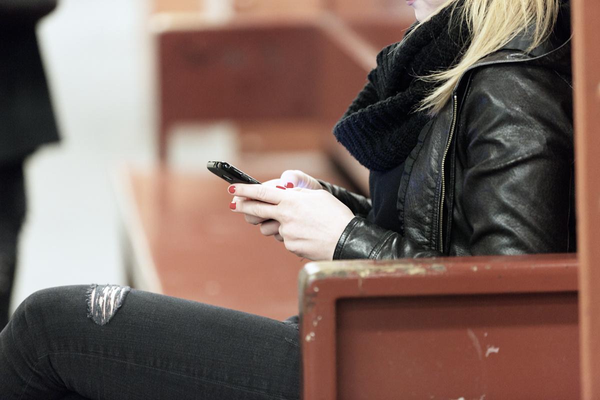 Gruppenchat Smartphone