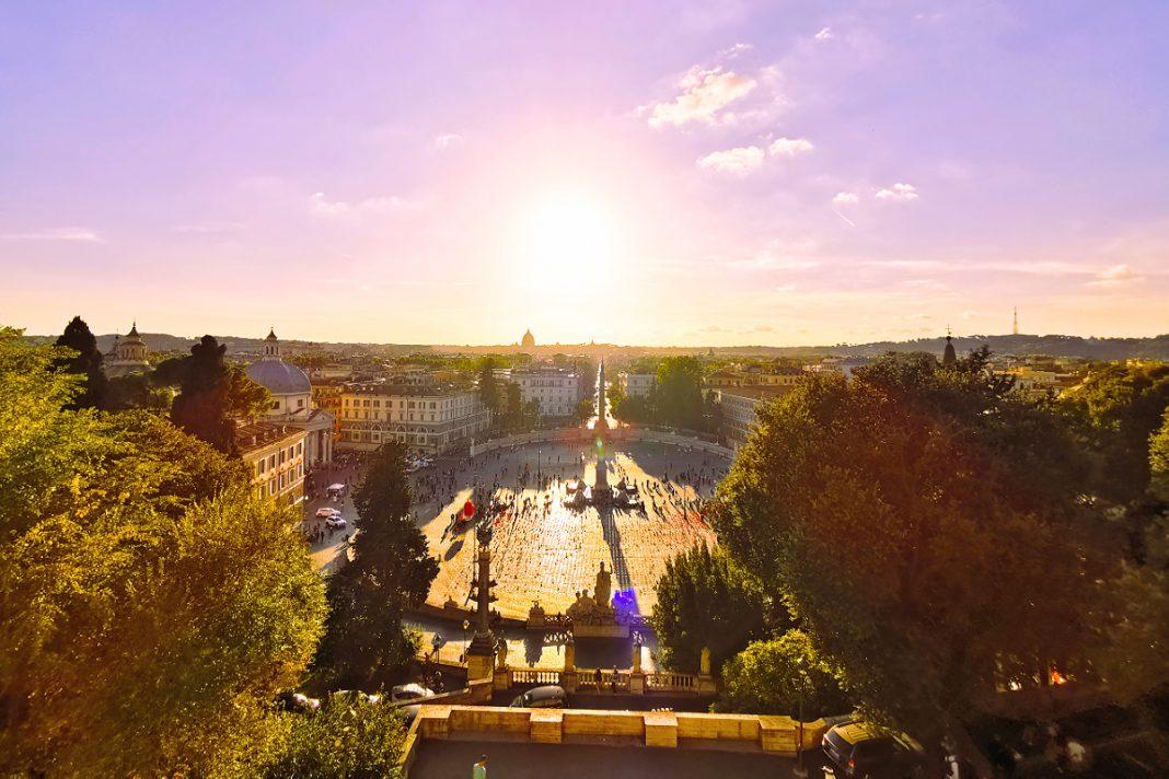 Rom Piazza del Popolo