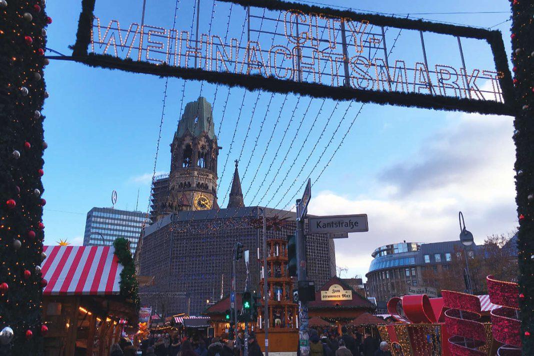 Weihnachtsmärkte in Berlin Gedächtniskirche