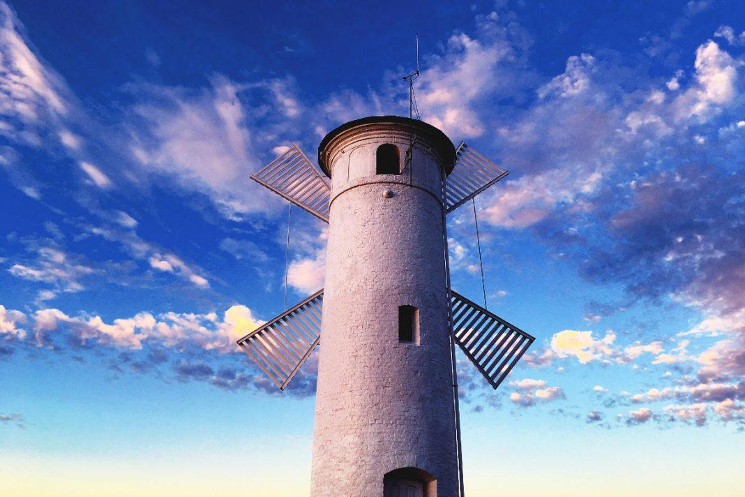 Swinemünde Leuchtturm Mühlenbake