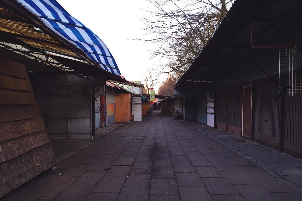Swinemünde Polenmarkt