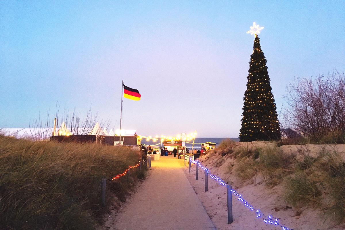 Swinemünde Strand Ahlbeck